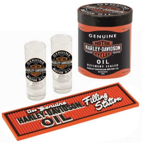 Harley-Davidson Genuine Oil Can Shot Glass Set HDL-18703 - Wisconsin Harley-Davidson