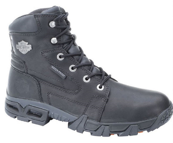 Harley-Davidson Men's Andy Waterproof 5.5-Inch Black Lace Boots. D96066 - Wisconsin Harley-Davidson