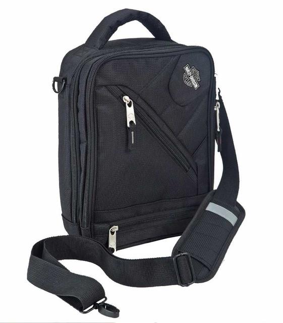 Harley-Davidson Business & Travel Tote Bag, Black Brief Case 99202-BLK - Wisconsin Harley-Davidson