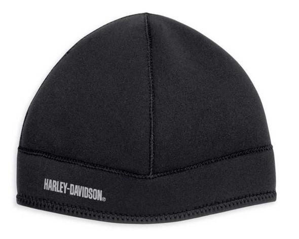 Harley-Davidson Men's Neoprene Wind-Resistant Hat 99431-12VM - Wisconsin Harley-Davidson