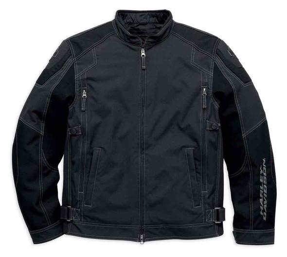 Harley-Davidson Men's Fortify Waterproof Reflect Riding Jacket, Black 98099-16VM - Wisconsin Harley-Davidson