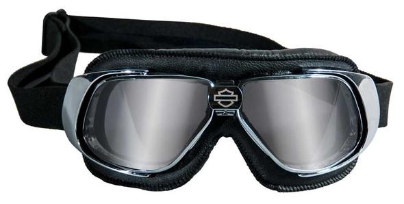 Harley-Davidson Fighter High End Performance Goggles, Chrome Frames HGFIG01 - Wisconsin Harley-Davidson