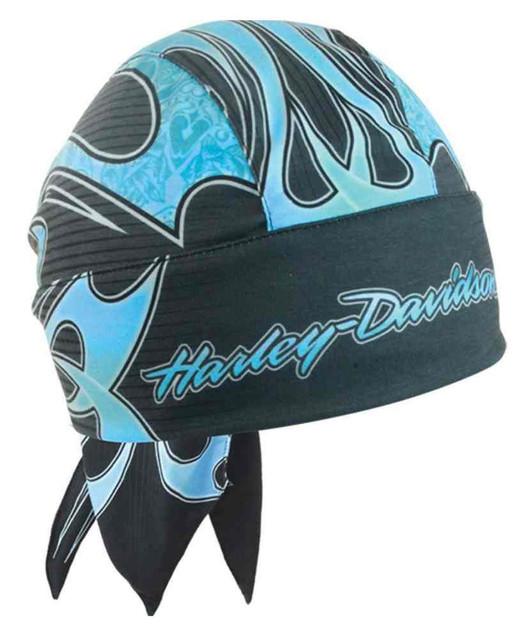 Harley-Davidson Women's Wild Tribal Streak Head Wrap, Moisture Wicking HW15489 - Wisconsin Harley-Davidson