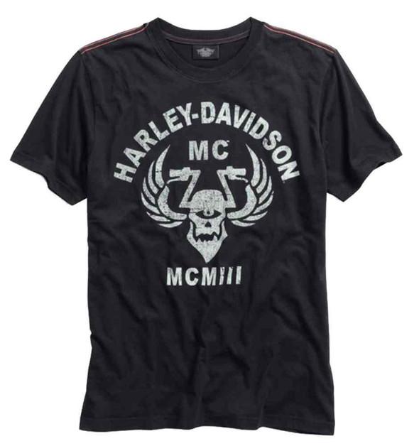 Harley-Davidson Men's Cyclops Graphic Short Sleeve Tee, Black Tee 96006-15VM - Wisconsin Harley-Davidson
