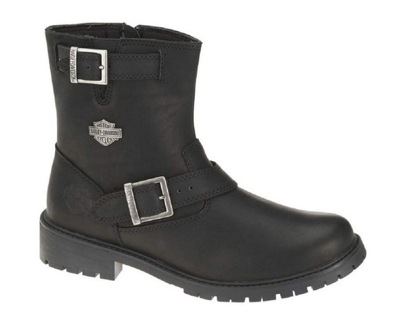 Harley-Davidson Men's Paxton 6.5-Inch Black Leather Motorcycle Boots. D93260 - Wisconsin Harley-Davidson