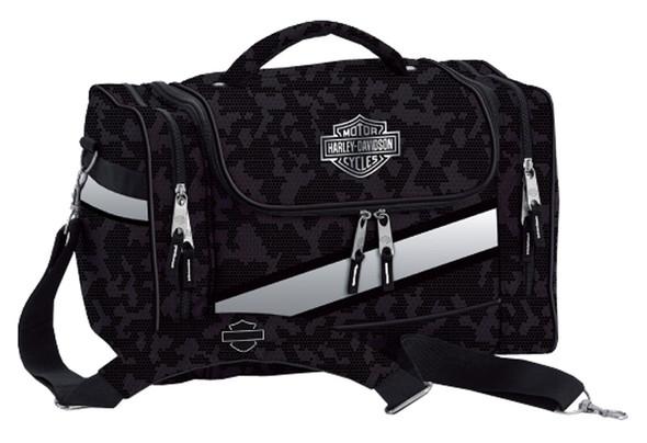 Harley-Davidson Extreme Bar & Shield Hop-Along Duffel Bag, Nightvision 99211 - Wisconsin Harley-Davidson