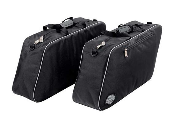 Harley-Davidson Zippered Premium Travel Pack For Hard Saddlebags, Set 2 93300070 - Wisconsin Harley-Davidson