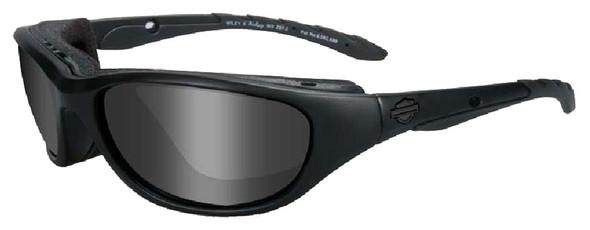 Harley-Davidson Airrage Grey Lens w/ Matte Black Frame Sunglasses HD694 - Wisconsin Harley-Davidson