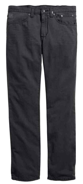 Harley-Davidson Men's Black Label Core Straight Leg Fit Jeans, Gray 99033-16VM - Wisconsin Harley-Davidson