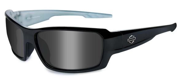 Harley-Davidson Men's Rebel-Alt Fit Gloss Black Frames Sunglasses HFREB01 - Wisconsin Harley-Davidson