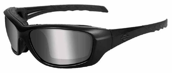 Harley-Davidson Gravity PPZ Silver Lens w/ Matte Black Frame Sunglasses HDGRA07 - Wisconsin Harley-Davidson