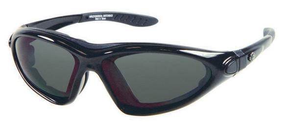 Harley-Davidson Mens Performance Switchback Sunglasses BLK/GRY Lens HDSZ705BLK-3 - Wisconsin Harley-Davidson