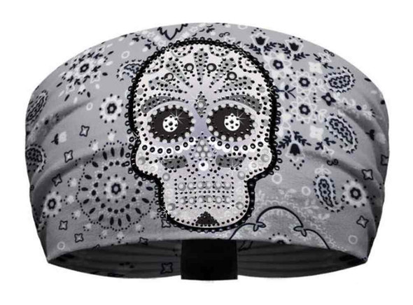 That's A Wrap Women's Premium Knotty Band, Embellished Eye Candy, Gray KB1537 - Wisconsin Harley-Davidson