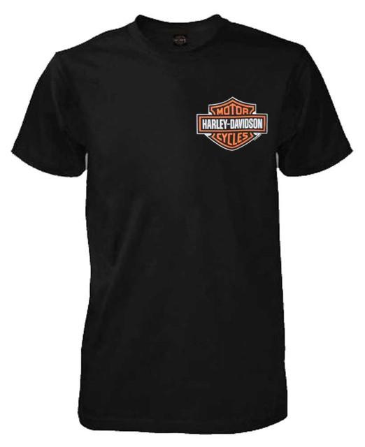 Harley-Davidson Men's T-Shirt, Classic Bar & Shield Chest Logo, Black 30290993 - Wisconsin Harley-Davidson