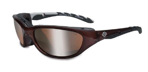 Harley-Davidson Airrage Bronze Lens w/ Crystal Bronze Frame Sunglasses HD695 - Wisconsin Harley-Davidson