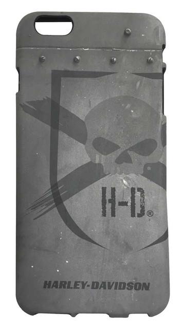 Harley-Davidson iPhone 6 Plus Shell, Distressed Willie G Skull TPU Case 07730 - Wisconsin Harley-Davidson