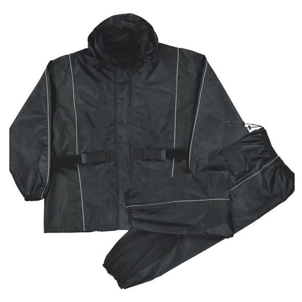 Nex Gen Men's Motorcycle Rain Suit, Reflective Piping & Heat Guard SH2225 - Wisconsin Harley-Davidson