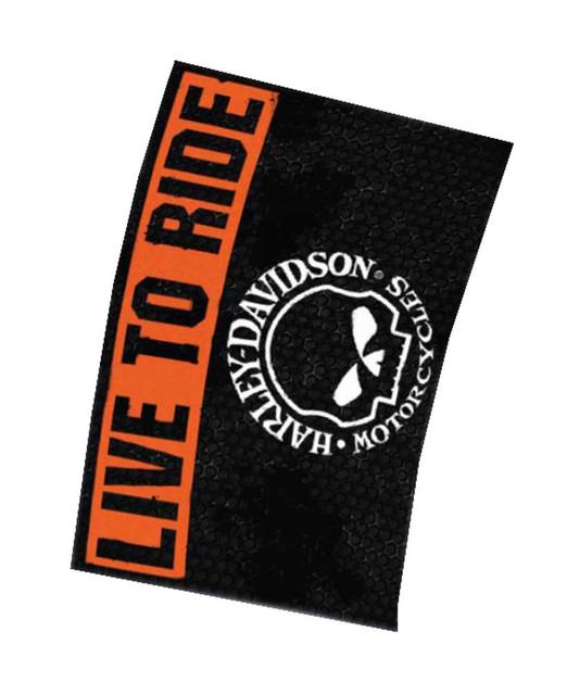 Harley-Davidson Willie G. Skull Live To Ride Estate Flag 30 x 43 HD-EST-1490 - Wisconsin Harley-Davidson