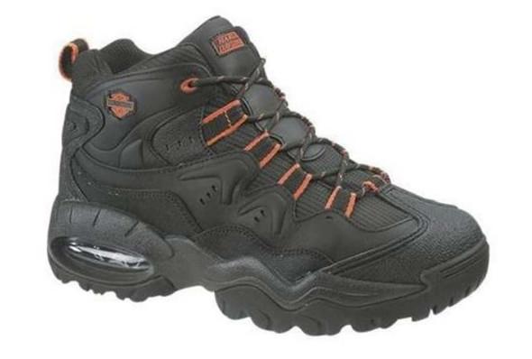 Harley-Davidson Men's Cross Roads II Lace Up Black Hiking Boots Shoes D94050 - Wisconsin Harley-Davidson
