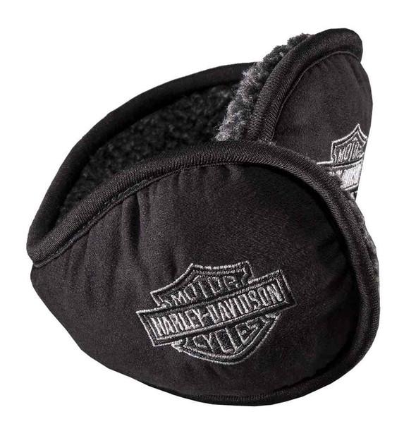 Harley-Davidson Men's Embroidered Bar & Shield Foldable Ear Warmer 97642-16VM - Wisconsin Harley-Davidson