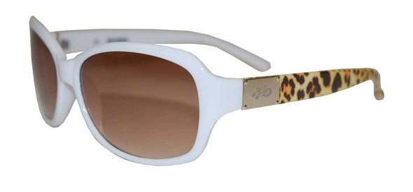 Harley-Davidson Womens Sunglasses, Cheetah White Frame/Brown Lens HDS5021-WHT-34 - Wisconsin Harley-Davidson