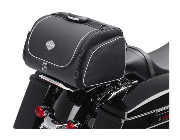 Harley-Davidson Bar & Shield Overnight Luggage Bag Black Nylon 93300005 - Wisconsin Harley-Davidson