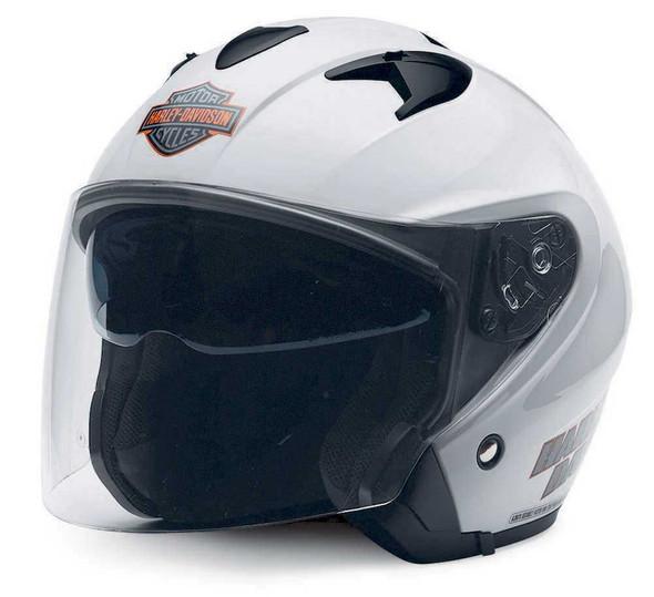 Harley-Davidson Men's Visionary 3/4  Helmet With Sun Shield 98280-14VM - Wisconsin Harley-Davidson