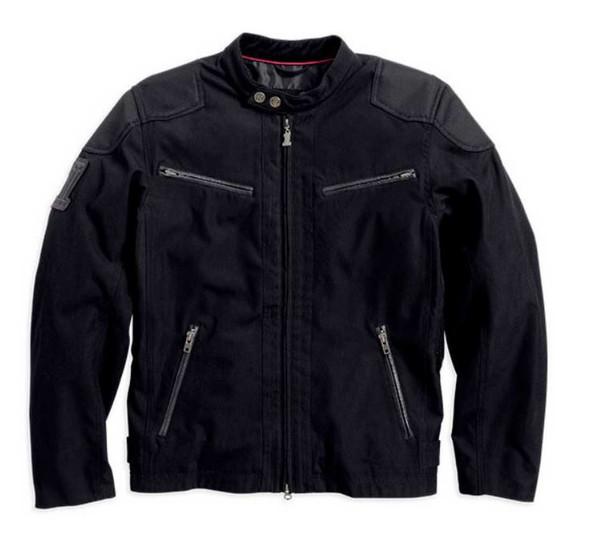 Harley-Davidson Men's Raven Textile Riding Jacket 98553-14VM - Wisconsin Harley-Davidson
