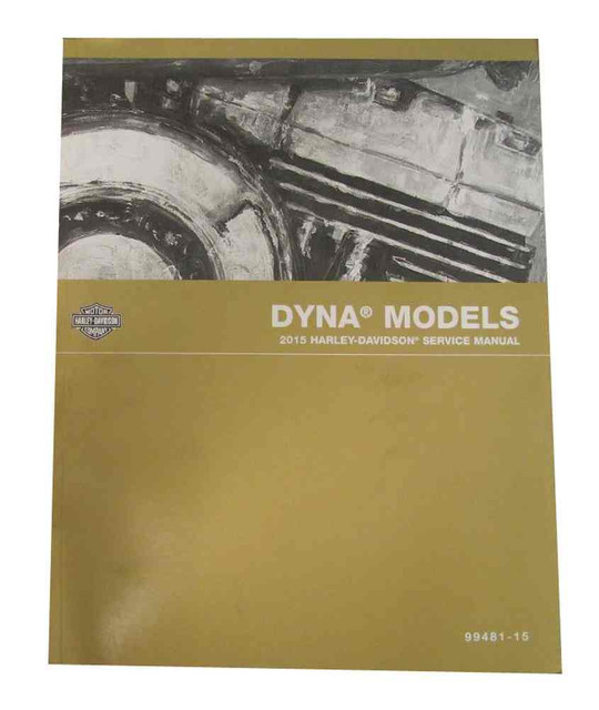Harley-Davidson 1999 Dyna Glide Models Motorcycle Service Manual 99481-99A - Wisconsin Harley-Davidson