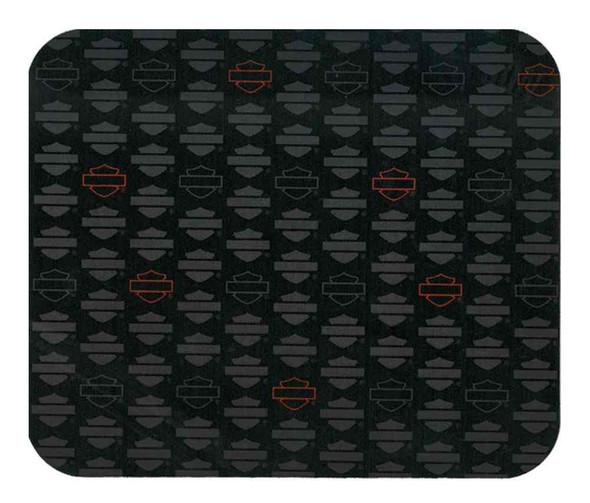 Harley-Davidson Repeated Blank Bar & Shield Mouse Pad, 9.25 x 7.75 inch MO114454 - Wisconsin Harley-Davidson