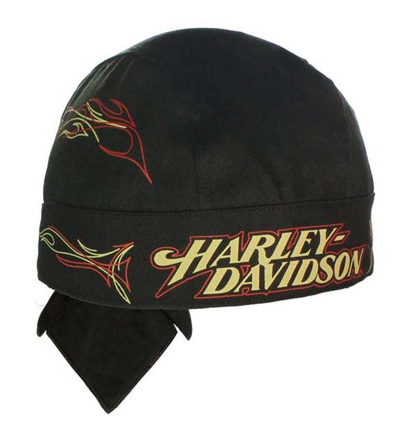 Harley-Davidson Tanked H-D Head Wrap Black HW00330 - Wisconsin Harley-Davidson