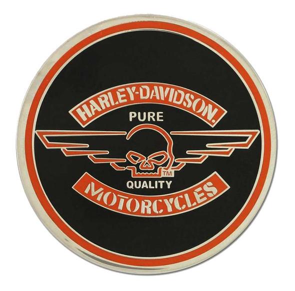 Harley-Davidson Challenge Coin, Winged Willie G Skull Performance Coin 8003043 - Wisconsin Harley-Davidson