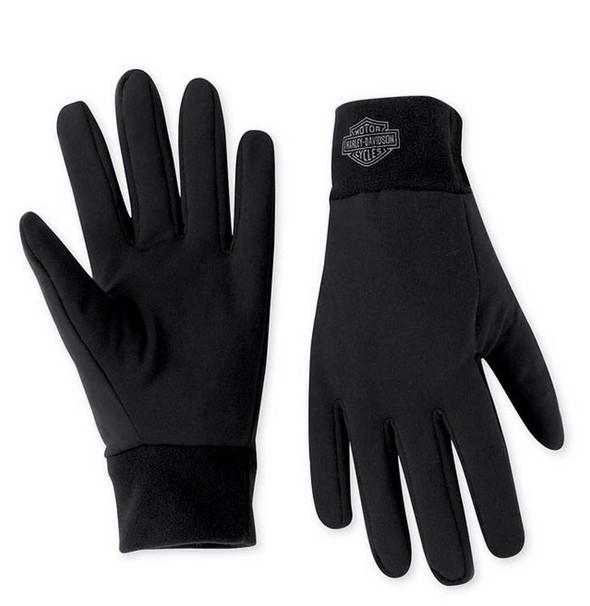Harley-Davidson Men's Bar & Shield Fleece Glove Liner 98337-11VM - Wisconsin Harley-Davidson