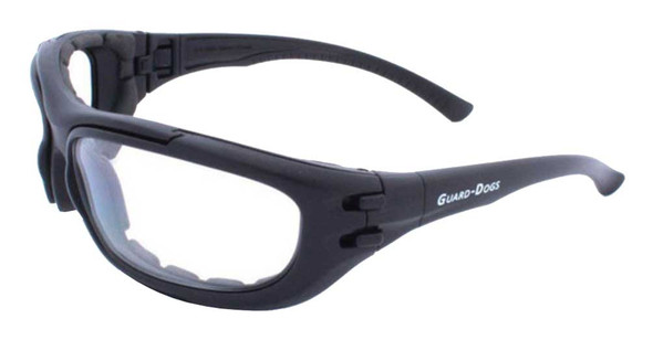Guard-Dogs Dustbuster 4 Changers FogStopper Airsoft Eyewear, Black 180-71-01 - Wisconsin Harley-Davidson