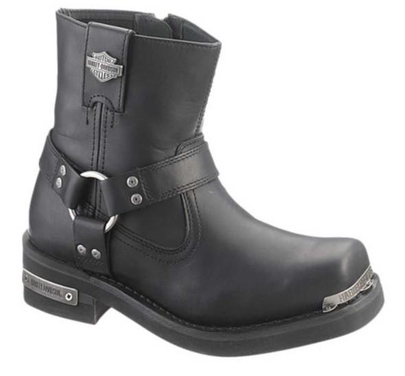 Harley-Davidson Men's Clark 7- Inch Boots. Black or Brown. D96046 D96050 - Wisconsin Harley-Davidson