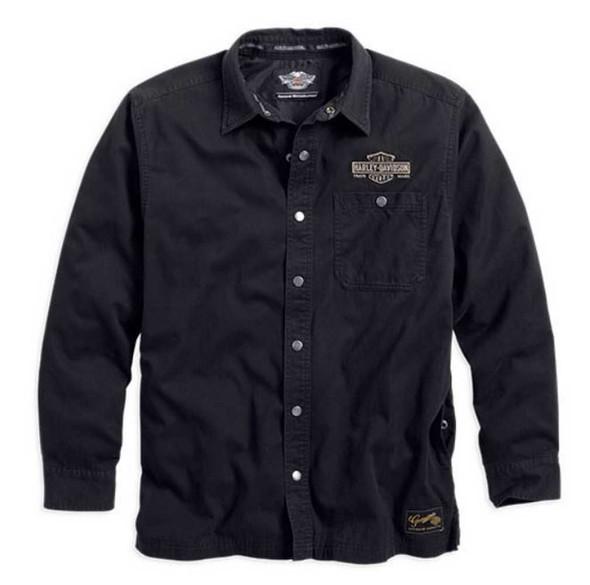 Harley-Davidson Men's Genuine Classics Shirt Jacket 99001-14VM - Wisconsin Harley-Davidson