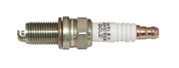 Harley-Davidson Gold Spark Plug, Special Thread & Shell Coating 32331-05 - Wisconsin Harley-Davidson