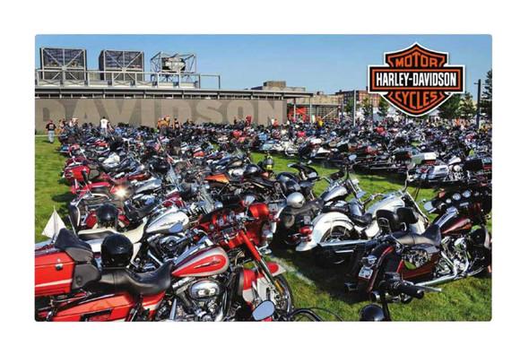 Harley-Davidson® Jigsaw Puzzle Collector's Edition, H-D Bike Lot, 21 x 33.5 6033 - Wisconsin Harley-Davidson