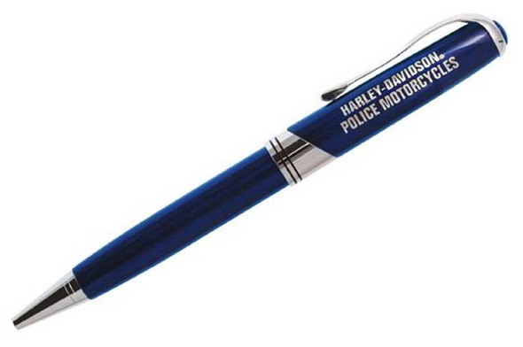 Harley-Davidson H-D Police Executive Writing Pen, Metal Twist WN126948 - Wisconsin Harley-Davidson