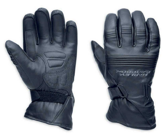 Harley-Davidson Men's Generations Full-Finger Leather Gloves 98274-14VM - Wisconsin Harley-Davidson