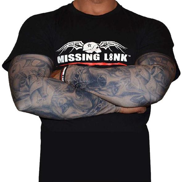 Missing Link SPF 50 Gunz N Money ArmPro Compression Sleeves - APGM - Wisconsin Harley-Davidson