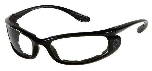 Harley-Davidson Men's Bar & Shield Black Frame Gray Lens Sunglasses HDSZ805BLK-3 - Wisconsin Harley-Davidson