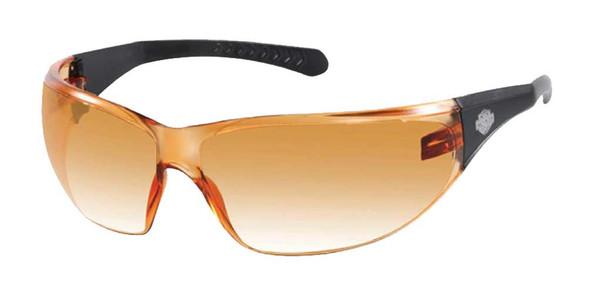 Harley-Davidson Men's Sunglasses, Bar & Shield, Black/Orange Lens HDVZ102-OR-14 - Wisconsin Harley-Davidson