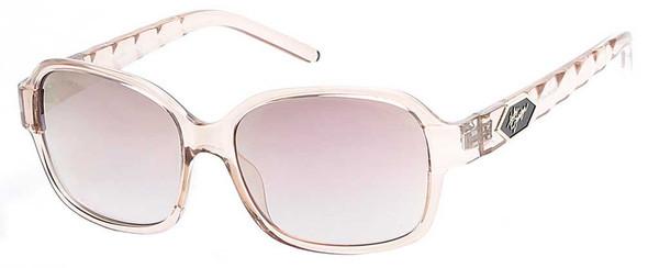 Harley-Davidson Women's Quilted Temple Sunglasses, Champagne Frames/Rose Lens - Wisconsin Harley-Davidson