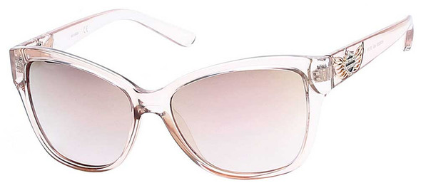 Harley-Davidson Womens Crystal Winged B&S Sunglasses, Champagne Frames/Rose Lens - Wisconsin Harley-Davidson
