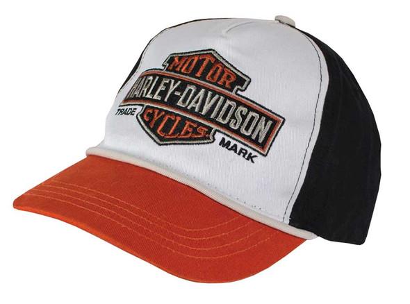 Harley-Davidson Little Boys' Embroidered Bar & Shield Baseball Cap 7280619 - Wisconsin Harley-Davidson