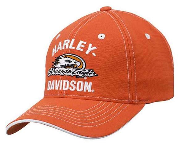 Harley-Davidson Men's Screamin' Eagle Arched Collegiate Baseball Cap HARLMH0271 - Wisconsin Harley-Davidson