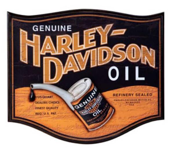 Harley-Davidson Genuine Oil Can Pub Sign HDL-15302 - Wisconsin Harley-Davidson