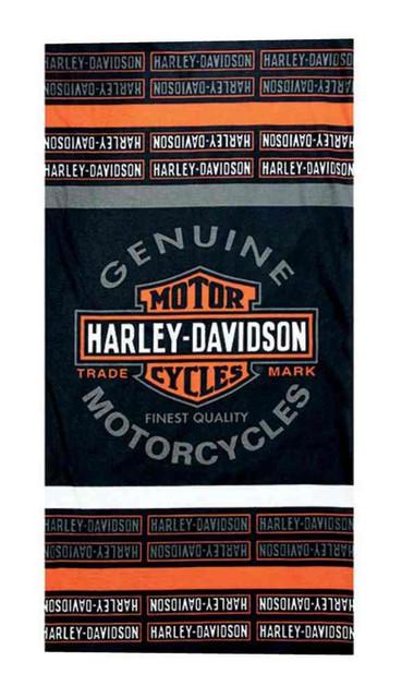 Harley-Davidson Long Bar & Shield Striped Logo Multifunctional Headwear MHW31264 - Wisconsin Harley-Davidson