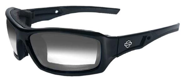 Harley-Davidson Echo LA Grey Lens w/ Gloss Black Frame Sunglasses HDECH05 - Wisconsin Harley-Davidson